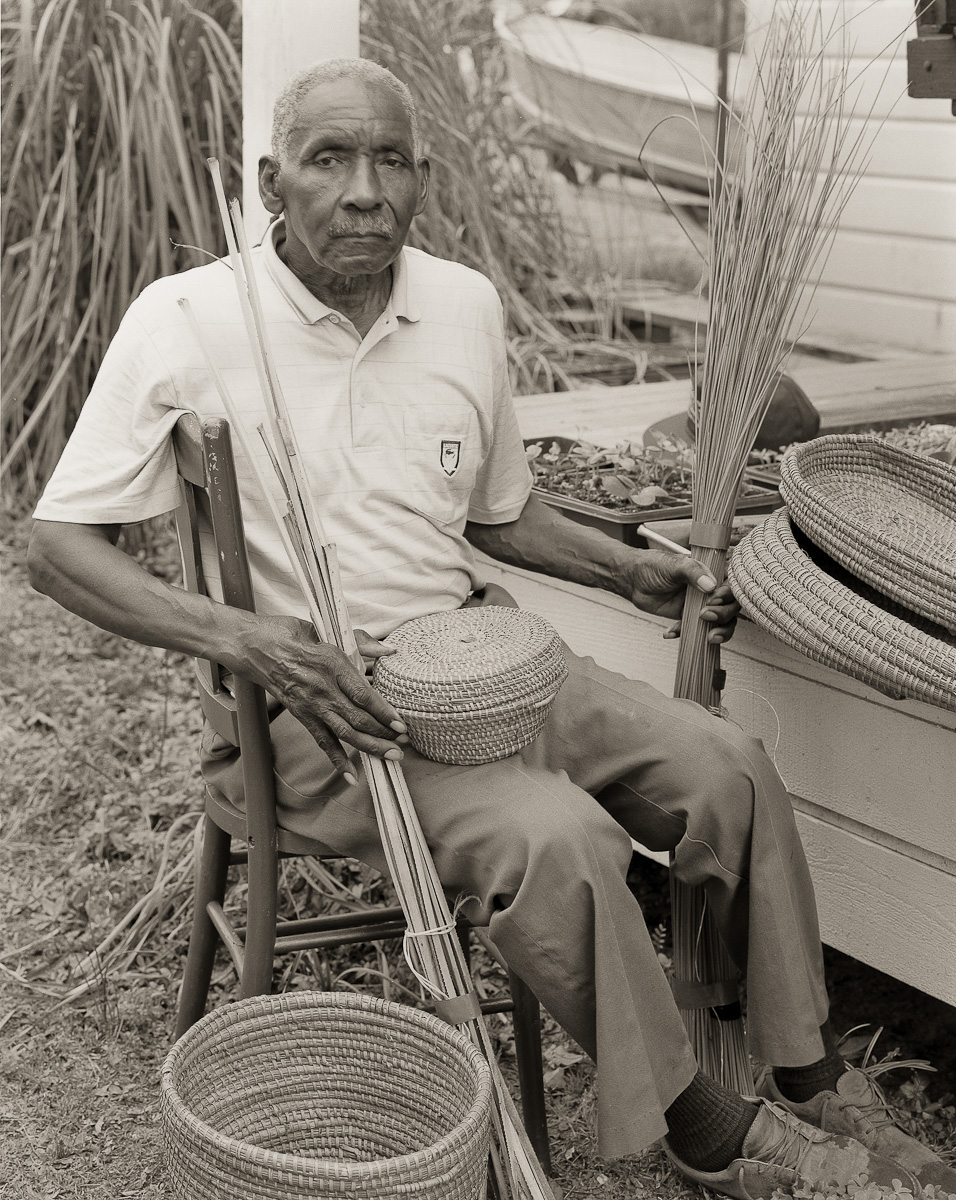 Mr Brown, Basket Weaver, St Helena Island, SC