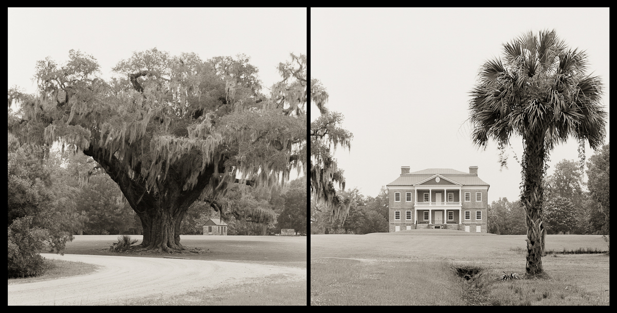 Drayton Hall Plantation Diptych, Charleston, SC