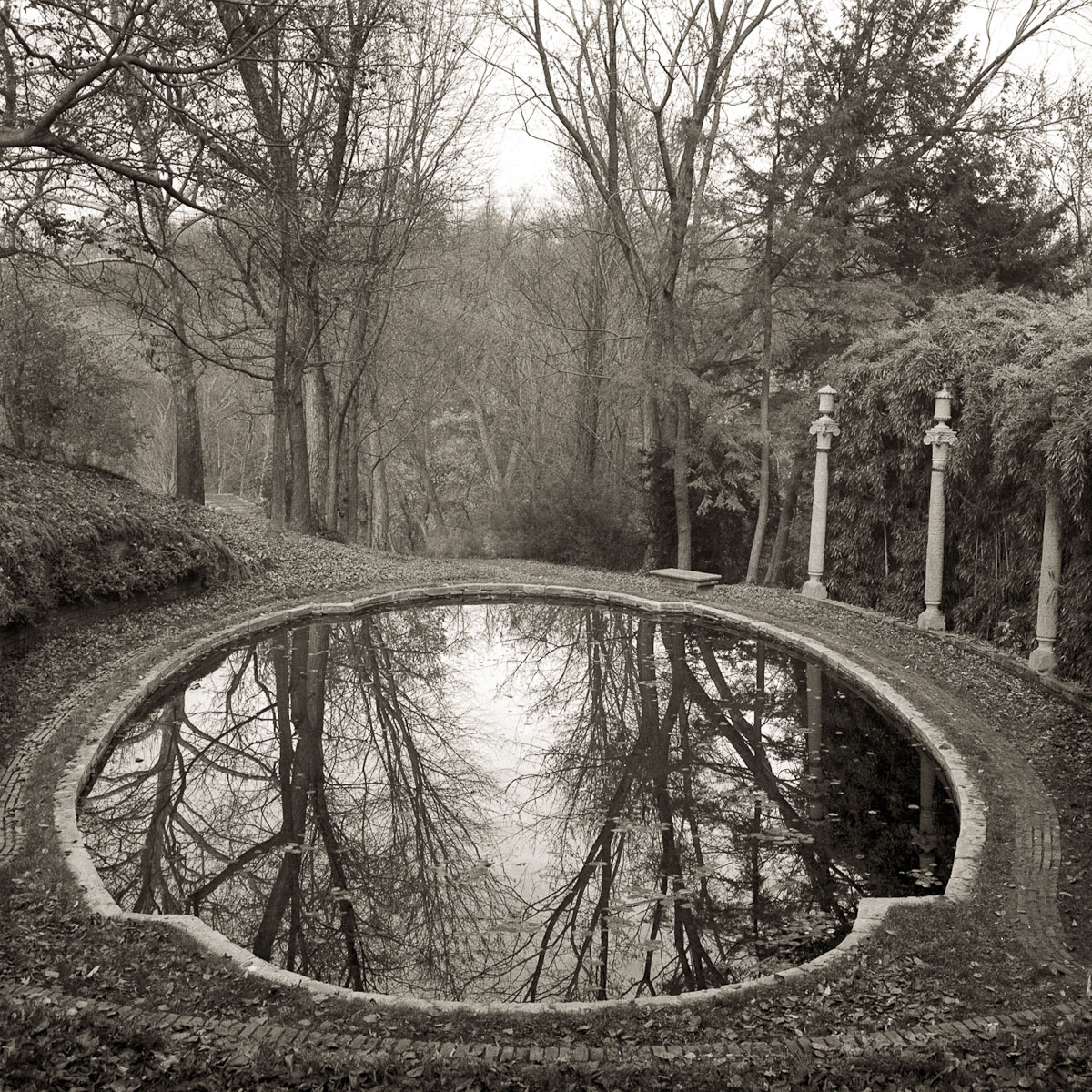 Dumbarton Oaks, Lovers Lane Pond